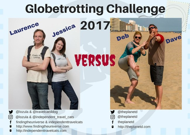 The contestants that will take on 10 countries in 10 days and 10 different challenges.