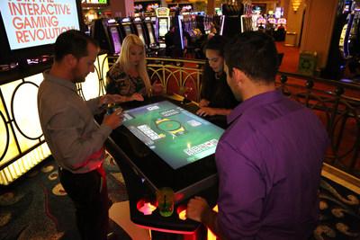 Harrah's Resort Southern California Debuts First-To-Market Gamblit Gaming Skill Games And Gaming Tables