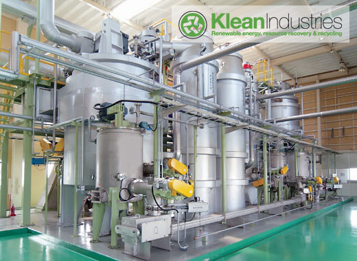 Tire Manufacturing Combined with energy and resource recovery plant using pyrolysis technology.