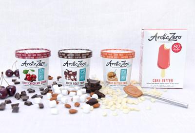 New Flavors of ARCTIC ZERO® Fit Frozen Desserts® Arrive in Freezer Aisles
