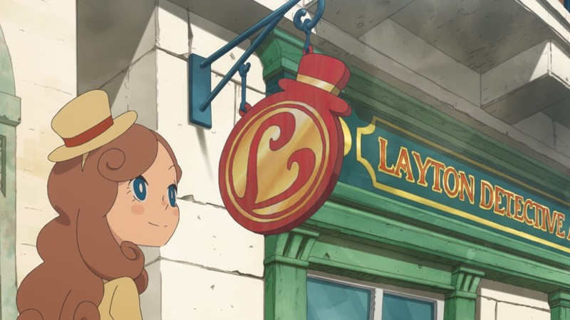 Katrielle opens up the LAYTON detective agency.