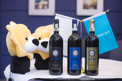 Customized wine for the Inter Milan Football Club