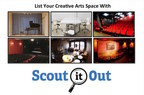 Scout It Out Creative Venue Booking Site Now Live
