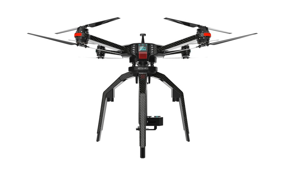 D-02 with DSLR camera gimbal will be available in late 2017. D-02 is a customizable aerial platform for professionals. It is compatible with a wide range of accessories, sensors and cameras to suit the user's specific needs such as filmmaking, inspection and surveillance.