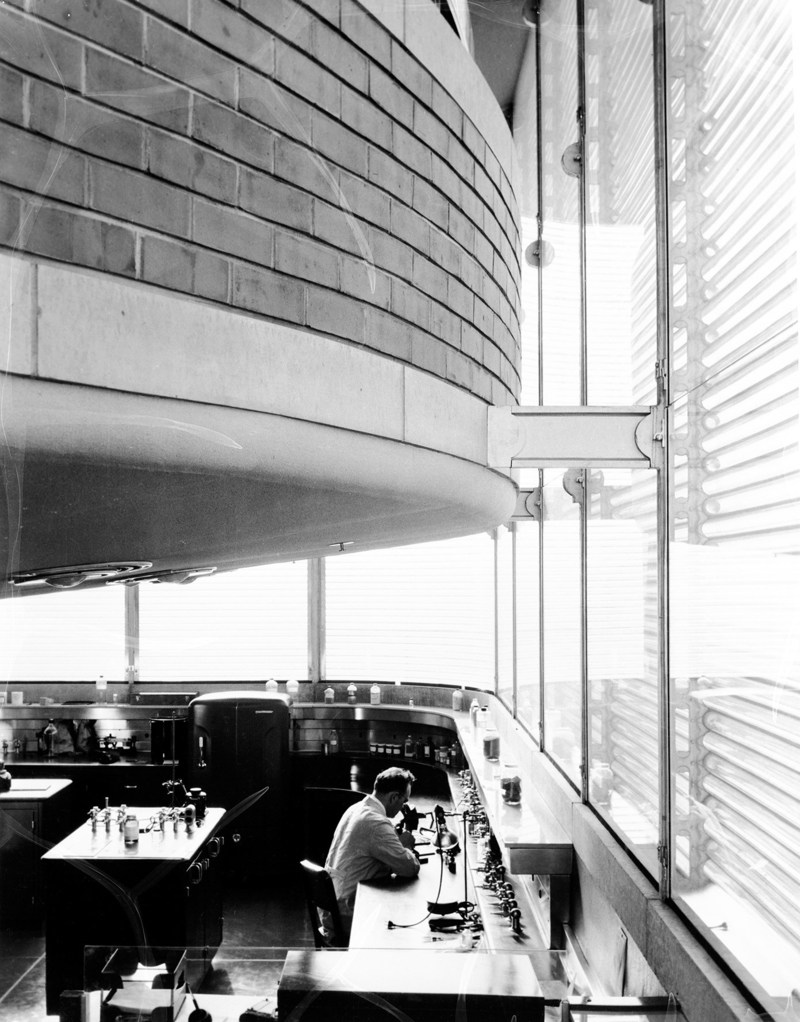 Scientist in the Research Tower circa 1951
