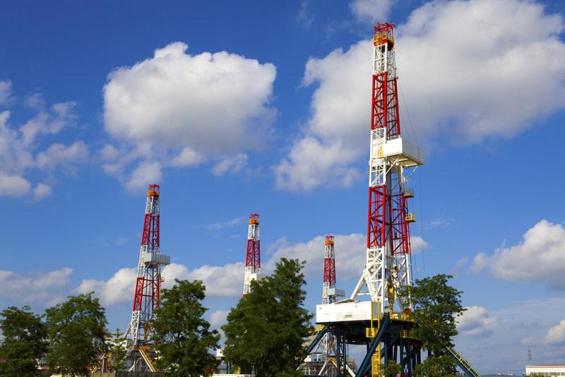 Gas Drilling Platform