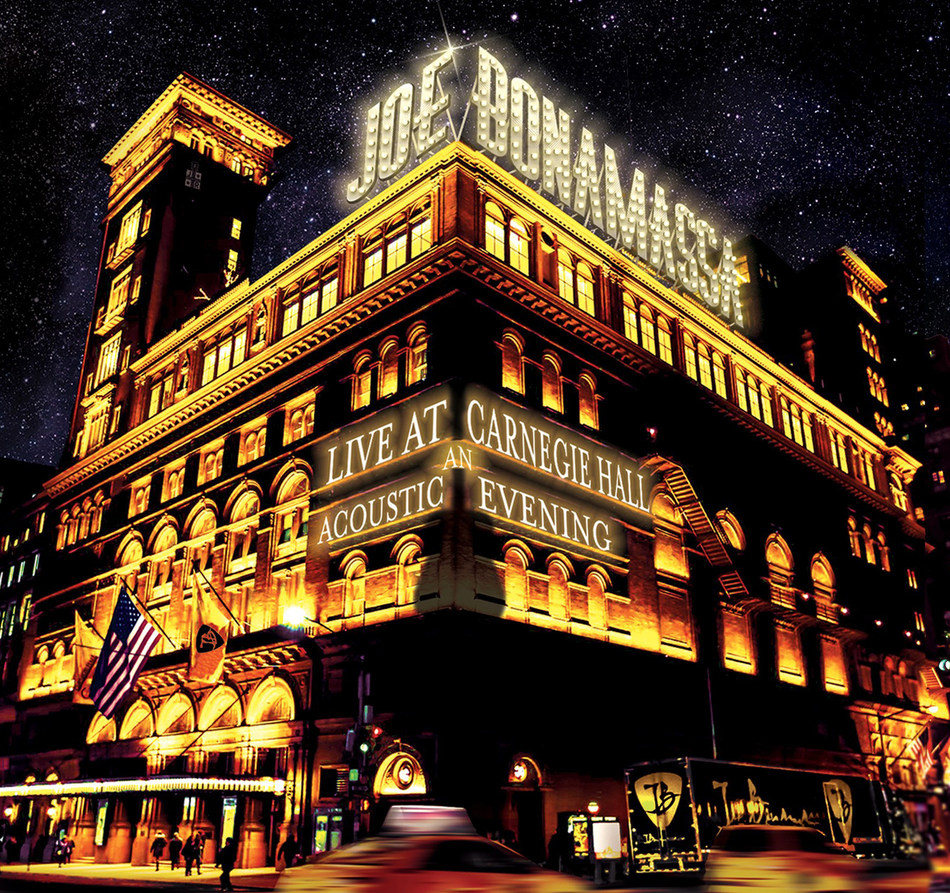 Joe Bonamassa's 'Live At Carnegie Hall - An Acoustic Evening' is available now for Pre-Order and will be released on June 23rd.