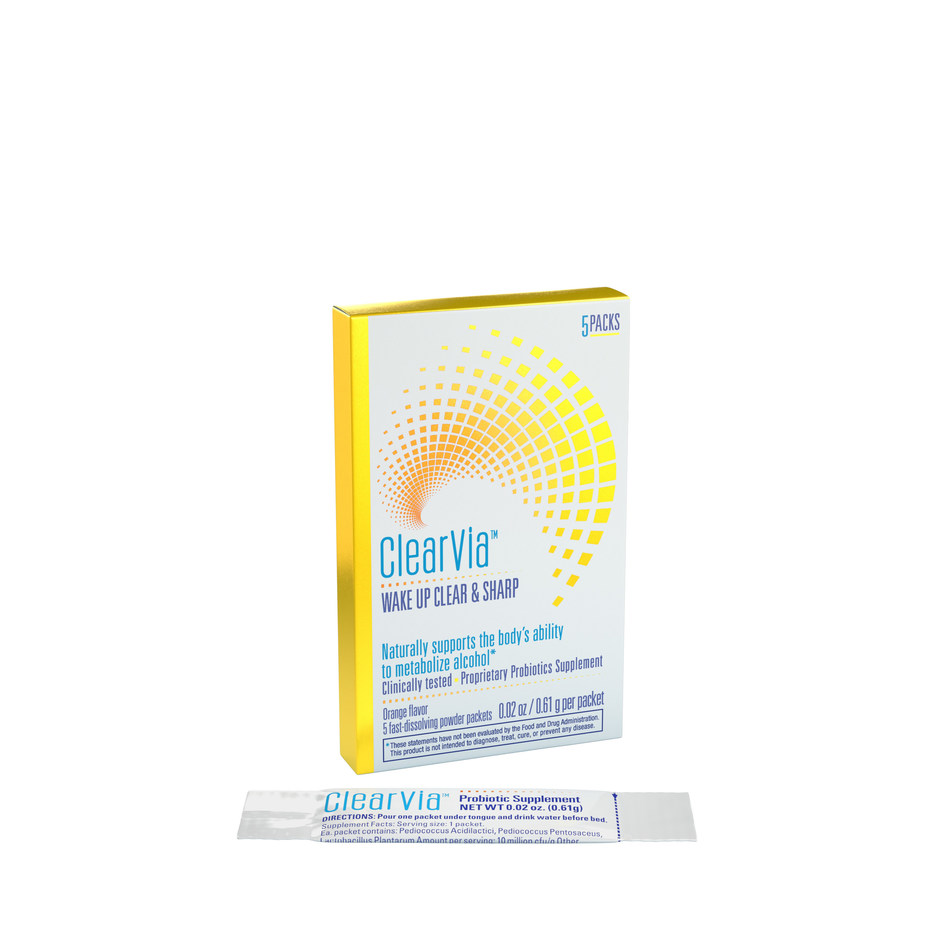 ClearVia Probiotic Supplement 5 Pack