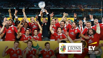 EY creates app to give rugby fans enhanced interactive digital experience during the Lions Tour of New Zealand