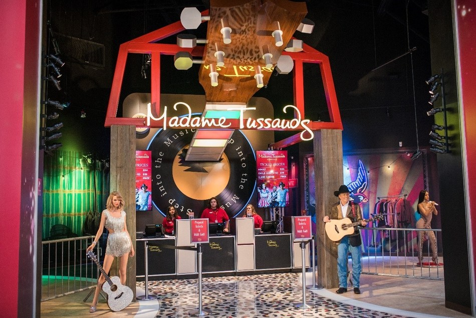 Madame Tussauds Nashville, the first in-mall wax attraction in the country, opened at Opry Mills on Friday, April 14. This is the seventh Madame Tussauds location in the U.S. and the only location that focuses solely on music.