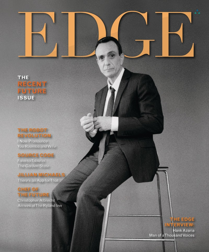 Brockmire Star Hank Azaria Talks the Talk in 'Recent Future' Issue of EDGE Magazine - Man of a thousand voices thrilled to be a part of the second Golden Age of Television. For more information contact: Doug Harris - phone (908) 994–5138 - e-mail DHarris@Trinitas.org. Visit EDGE on the web at EdgeMagOnline.com
