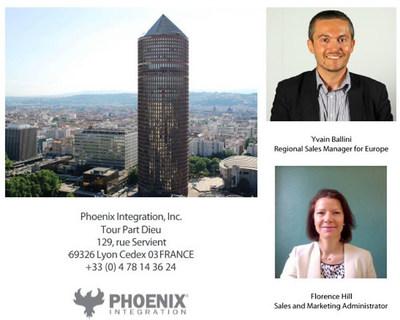 Phoenix Integration expands its European Operations to Lyon, France