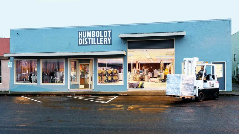 The Distillery in Humboldt County, CA