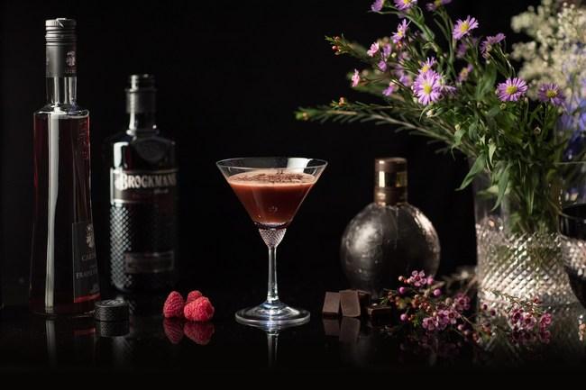 Brockmans Gin Forest Gateau Cocktail