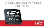 USB-to-I2S Bridge Chip Brings Turnkey Simplicity to Digital Audio Design