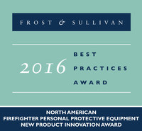 Frost & Sullivan recognizes Honeywell with the 2016 North America New Product Innovation Award.