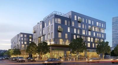 Oakwood Worldwide Opens Oakwood Olympic & Olive in Downtown LA (PRNewsfoto/Oakwood Worldwide)