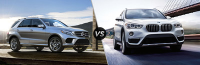 Customers can compare the 2017 Mercedes-Benz GLE vs the 2017 BMW X5 on the Loeber Motors website.