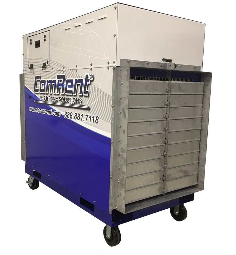 ComRent launches the XS665 with CR Remote Technology©, a powerful load bank designed for data center commissioning that offers single operator, remote capability and continuous load at various voltages.