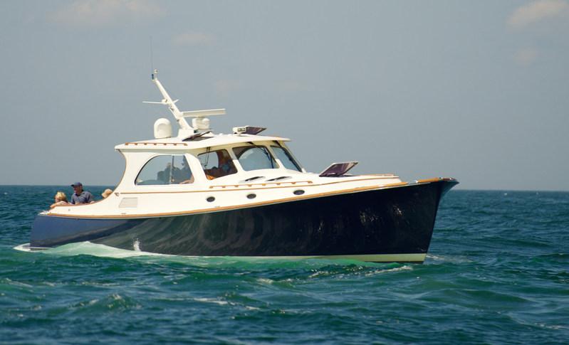 """Mariner 2""- A Yacht in the B&G Hinckley Fleet"