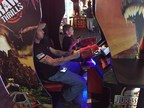 Wounded Warrior Project Families Connect During Day at Arcade