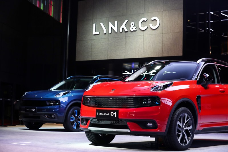 THE LYNK & CO 01 IS PRODUCTION READY