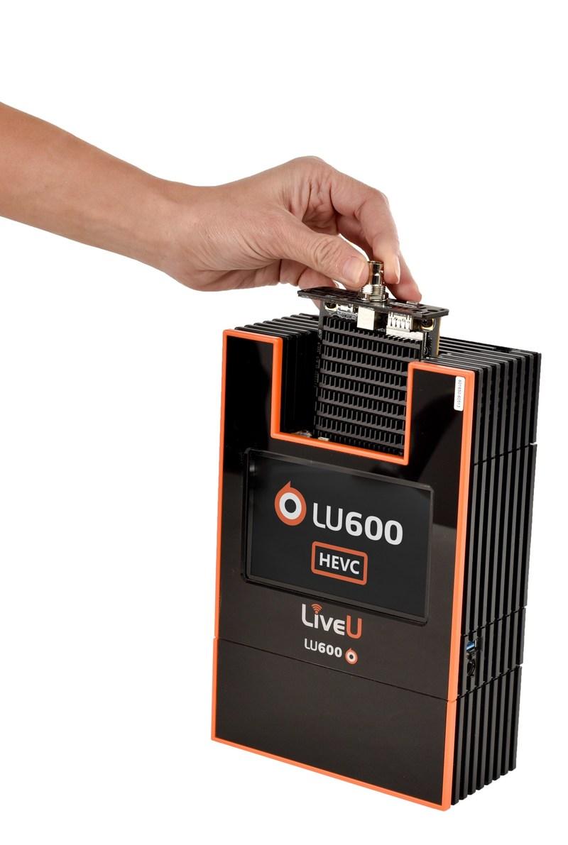LiveU's LU600 with the HEVC Pro Card
