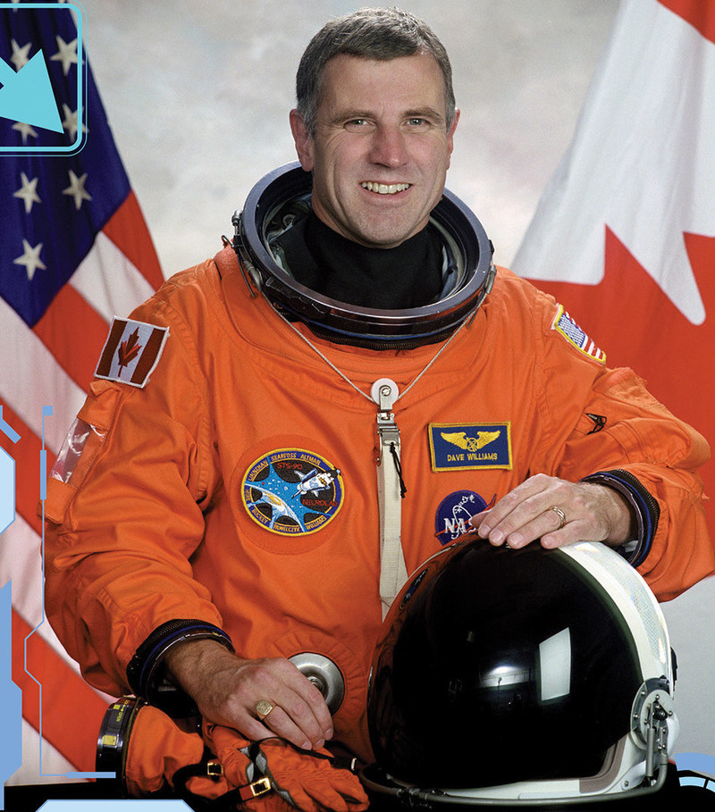 Meet Canadian Space Agency astronaut Dr. Dave Williams (CNW Group/Ontario Science Centre)