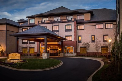 DaVinci Roofscapes Shake roof tops the new Village Hotel on the Biltmore Estate in Asheville, NC. Image courtesy of Biltmore.