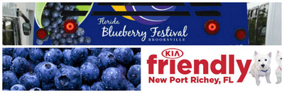 New Kia and used vehicle dealership Friendly Kia is a sponsor of the annual Florida Blueberry Festival, which takes place April 22 and 23, 2017 in Brooksville FL.