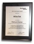 MilesTek Receives Rockwell Collins Platinum Premier Award