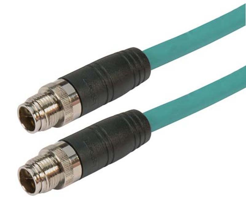 L-com X-Coded M12 Cable Assemblies