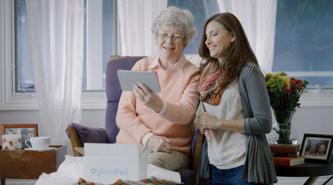 The grandPad tablet enables seniors over 75 years of age to easily communicate with family members, caregivers, and friends via seamless video calling, secure photo sharing, and simple voice emails. The intuitive, easy-to-use design turns technology into a gateway instead of a barrier, empowering seniors to Live Grand. The tablet will be sold at a 15% discount during a Mother's Day promotion available now through May 14, 2017. For information, visit www.grandpad.net or call 1-800-704-9412.