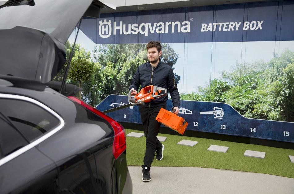 Husqvarna Battery Box (PRNewsfoto/Husqvarna)