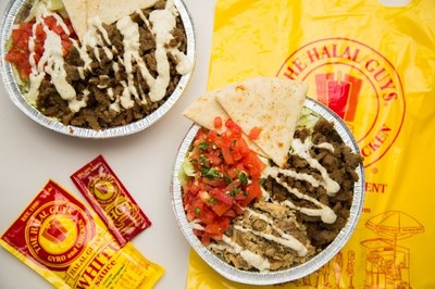 The Halal Guys famous platters and sauce! (CNW Group/The Halal Guys)