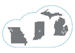 Online Tech, now in 3 markets with 7 data centers.