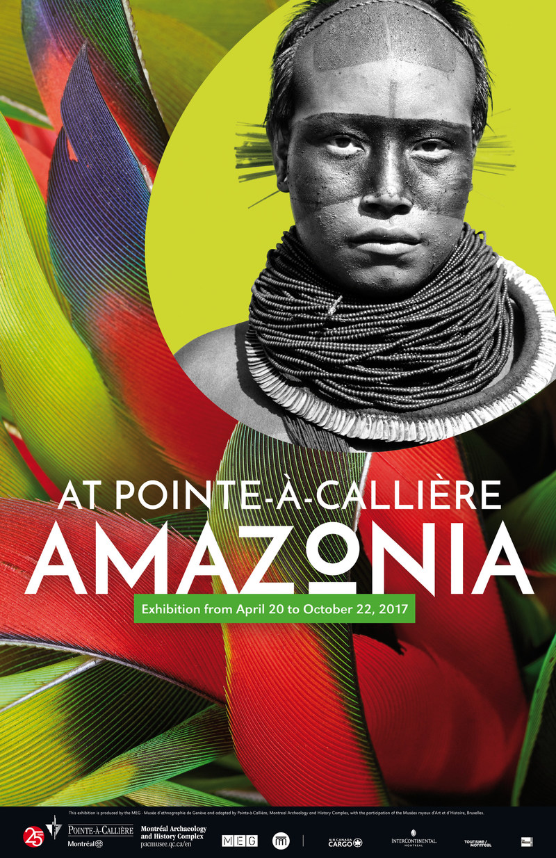 Amazonia. The Shaman and the Mind of the Forest at Pointe-à-Callière (CNW Group/Pointe-à-Callière, Montreal Museum of Archaelogy and History)