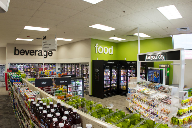 The new, health-focused CVS Pharmacy formats have 100 feet of new merchandise in health, beauty and healthier food and use a streamlined layout to highlight themes that make shopping easier. These healthier food choices, include brands such as Alo Exposed Waters, EPIC bison bars and That's It. bars and will make up approximately 50 percent of all food options found throughout the store, including 27 new items under the exclusive Gold Emblem Abound™ product line.