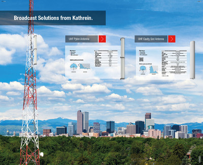 Kathrein Announces 'Repack Ready' Solution for Broadcasters at NAB 2017