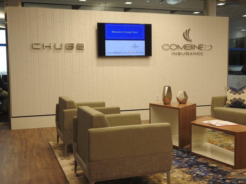 Combined Insurance, a Chubb Company, Moves to Chicago's Triangle Plaza