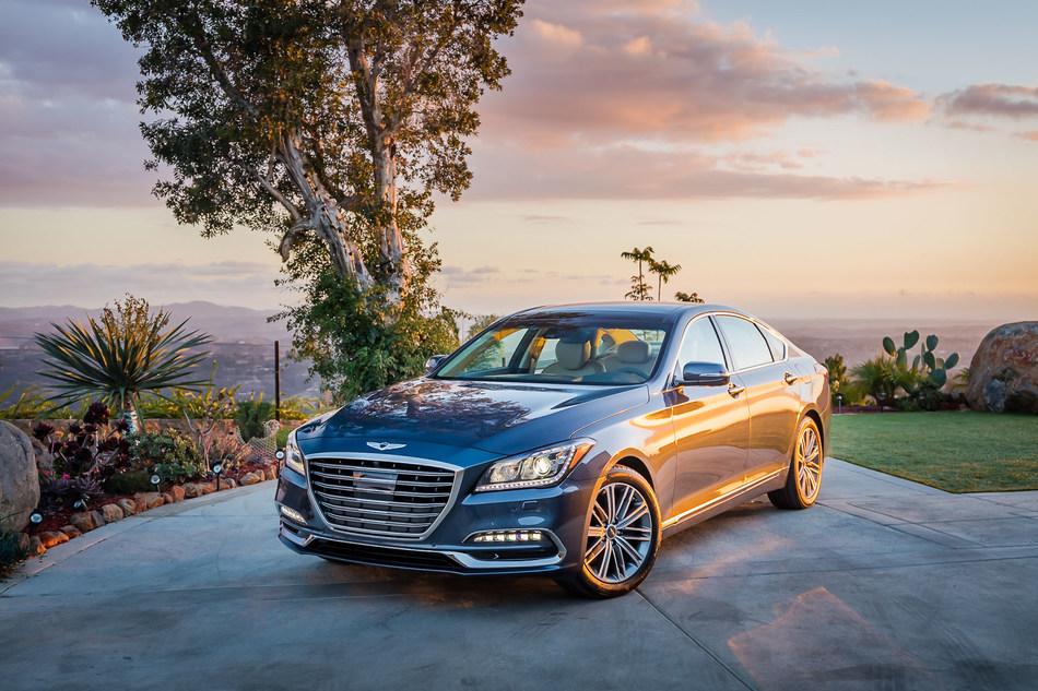 2018 Genesis G80 pricing starts at $41,750.