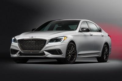 2018 Genesis G80 Sport pricing starts at $55,250.