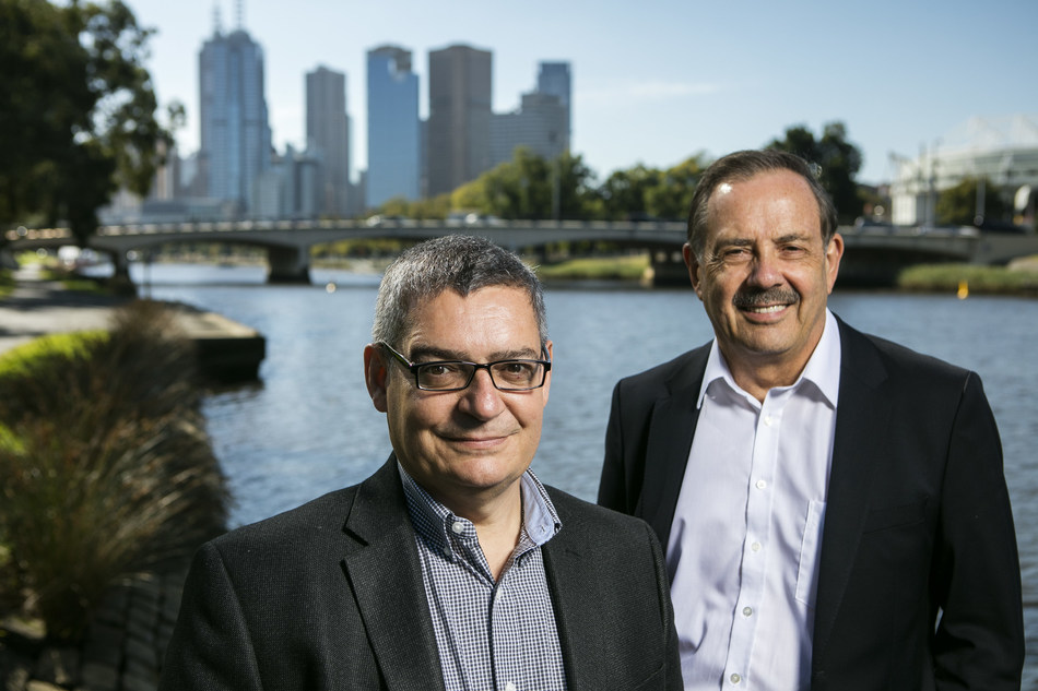 Aquabotix's CEO, Durval Tavares, and Chairman, Peter James