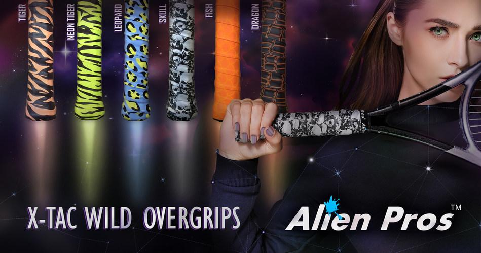 Alien Pros Designer Overgrips.