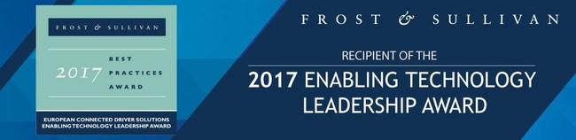 Anagog's Enabling Technology Leadership Award - Frost & Sullivan 2017