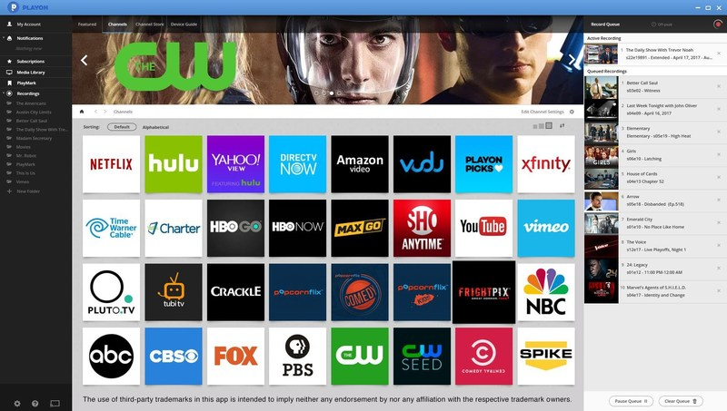 With PlayOn DIRECTV NOW customers get a full-featured DVR and live streaming to Roku and game consoles.
