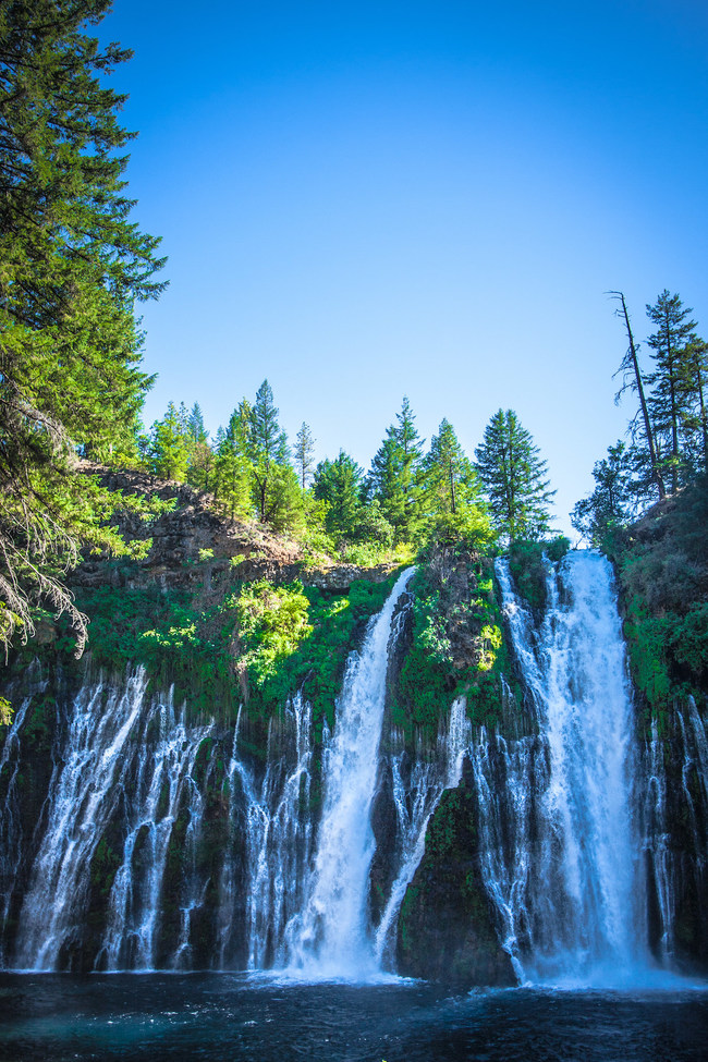 A unique concentration of waterfalls once created by volcanic activity allows visitors to marvel in the outdoor paradise of Redding and Shasta Cascade.