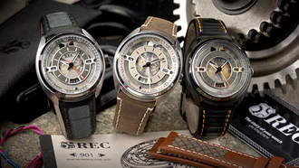 REC Watches Honors German Automotive History With 901 Collection, Made From Salvaged Air-Cooled Era Porsche 911's