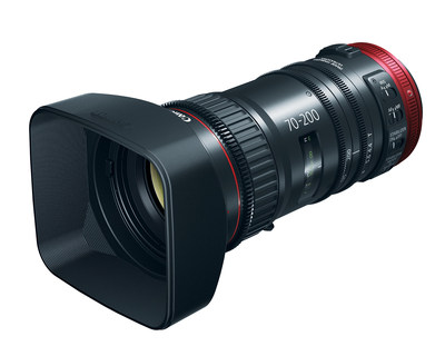Canon Adds Versatility To Family Of High-Quality, Affordable COMPACT-SERVO Lenses With New 70-200mm Telephoto Zoom Lens