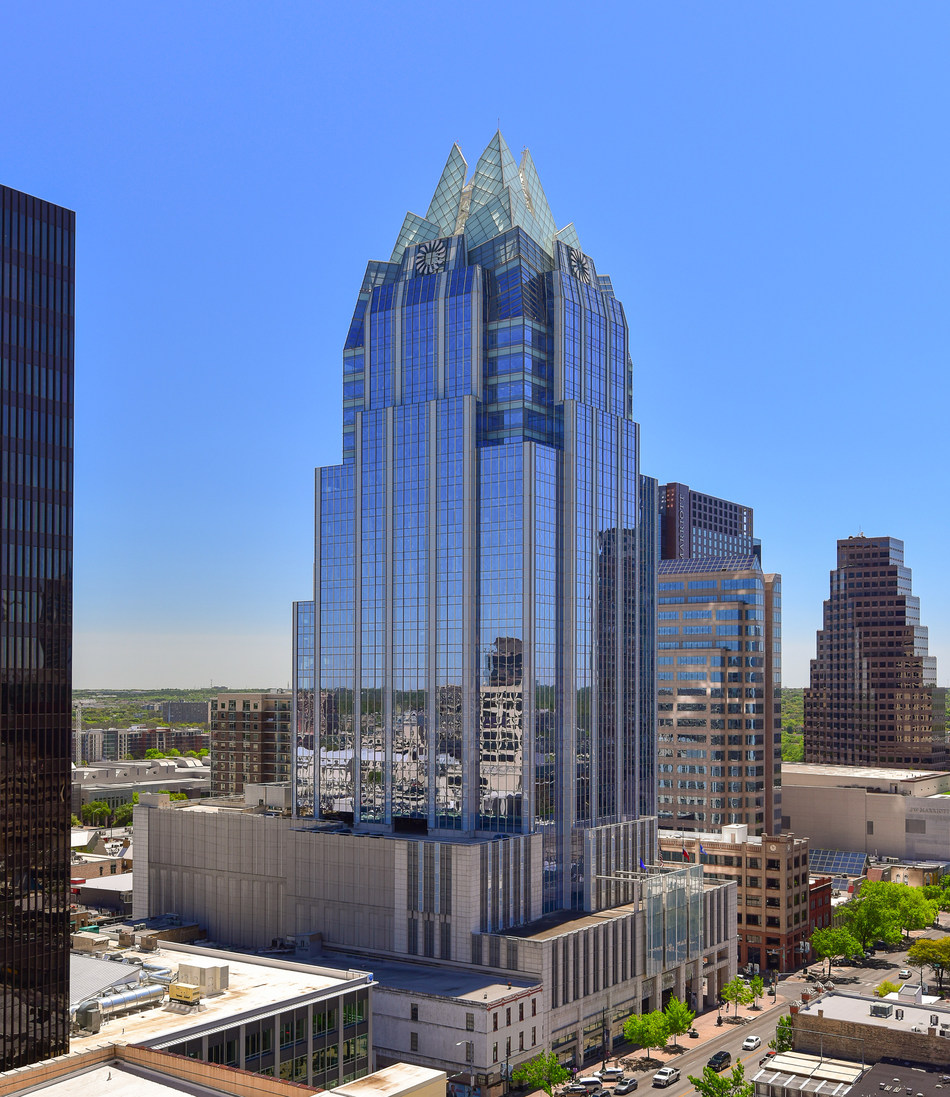 Austin's most recognizable architectural icon located in the center of Downtown